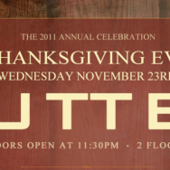 BUTTER Thanksgiving Eve